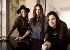 The Staves record track with Keaton Henson